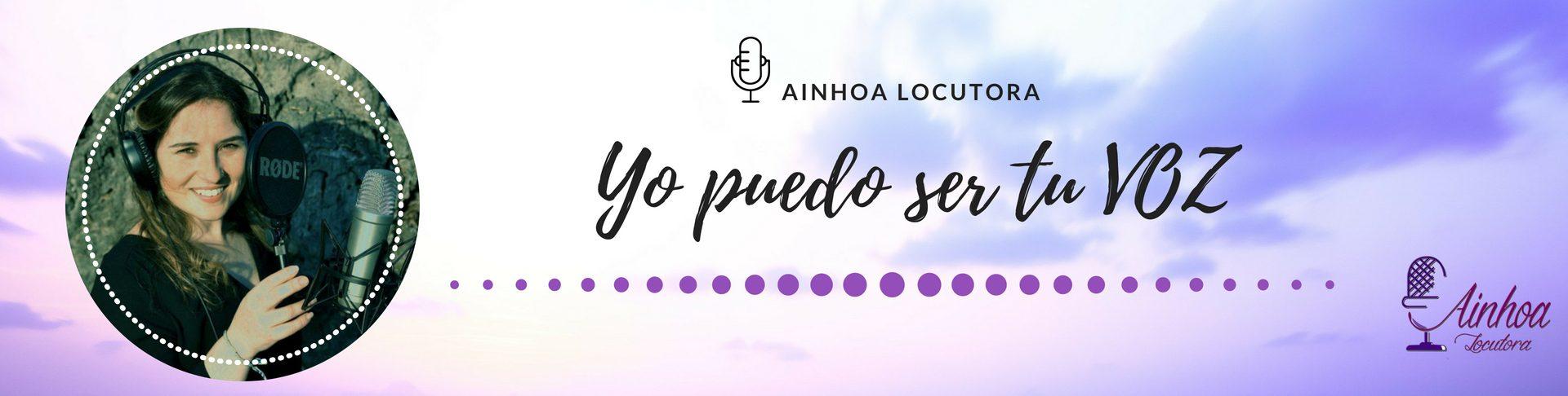 Ainhoa Miguel LOCUTORA